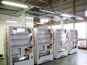 イメージ:業務 - 自動販売機の整備